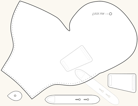 Challenger image intended for printable holster patterns