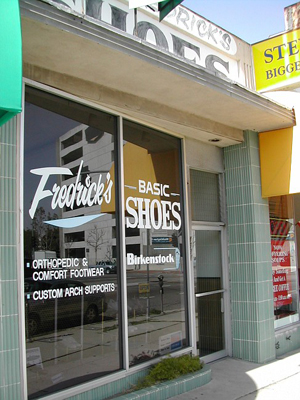 Fredericks Shoes