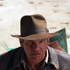 This swoop is one of the defining traits that separated Indiana Jones  fedoras from all the rest. 1f1c8113ea7