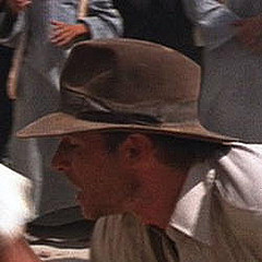 The Gray Clipper Fedora Very little was known about the fedora worn by  Harrison Ford in Raiders of the Lost Ark while on board the Pan Am Clipper  and at the ... 90f26570d94